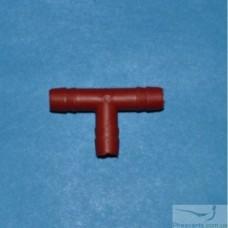 Тройник пластиковый прямой 8 мм