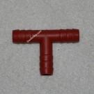 Тройник пластиковый прямой 10 мм