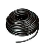 Шланг пищевой чёрный ПВХ 10*8 мм / метр