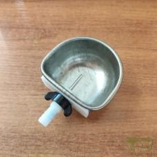 Чашечная поилка металл арт. 3196