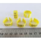Меточное кольцо 16 мм с нумерацией