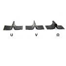 Набор ножей  для прививочного секатора (U, V, Ω)